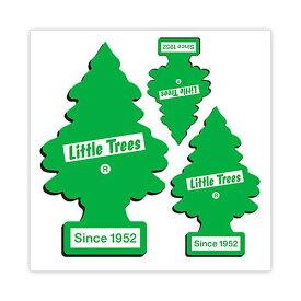 リトルツリー ステッカー [グリーン シンボル 3枚 セット] Little Tree アメリカン雑貨
