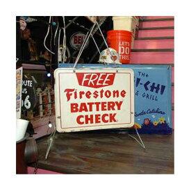 Firestone ファイアストン ヴィンテージ バッテリーチェッカー ラック 棚 アメリカン雑貨
