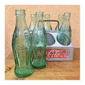 コカコーラ ヴィンテージ ラック&ボトル6本セット 50年代 [o-74] アメリカン雑貨