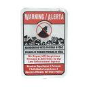 ヴィンテージ 看板 NH-10 / WARNING ネイバーフッド ウオッチ 自警団 アメリカン雑貨
