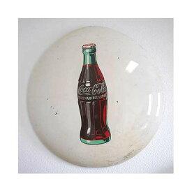 コカコーラ ヴィンテージ 琺瑯看板 ホーロー 50's〜60's Coca cola Porcelain Button Sign アメリカン雑貨