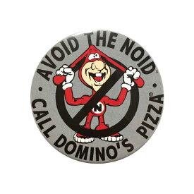 缶バッチ バッジ 大 #27 / AVOID THE NOID DOMINO'S PIZZA ドミノピザ アメリカン雑貨