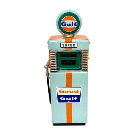 ガスポンプ 1/18 [Gulf/グリーンver] ガルフオイル GAS PUMP ジオラマ ミニカー アメリカン雑貨