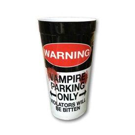 BLOODY WARNING カップ ビッグ プラカップ プラスチック キャンプ アウトドア アメリカン雑貨