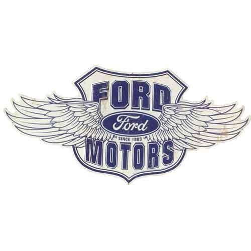 フォード FORD 大判 メタルサイン 看板 ヴィンテージ調 エイジング