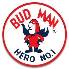 ステッカー / BUDWEISER BUD MAN バドワイザー バドマン アメリカン雑貨