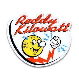 ステッカー / Reddy Kilowatt クリアタイプ レディキロワット アメリカン雑貨