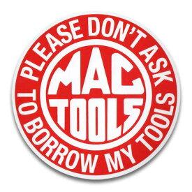 ステッカー / MACTOOLS マックツール ラウンド アメリカン雑貨
