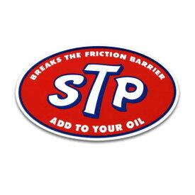 ステッカー / STP オーバル アメリカン雑貨