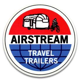 ステッカー / AIR STREAM エアストリーム TRAVEL TRAILERS アメリカン雑貨