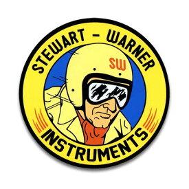 ステッカー / STEWART WARNER スチュワート ワーナー アメリカン雑貨