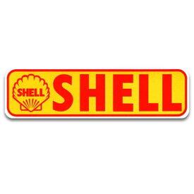 ステッカー / SHELL バナー シェル アメリカン雑貨