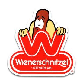 ステッカー / Wienerschnitzel ウィンナーシュニッツェル ホットドッグ アメリカン雑貨