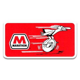 ステッカー / MARATHON マラソン オイル アメリカン雑貨