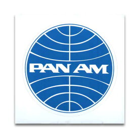 ステッカー / PANAM パンナム PAN AMERICAN AIR アメリカン雑貨