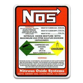 ステッカー / NOS WARNING ニトロ ワイルドスピード アメリカン雑貨