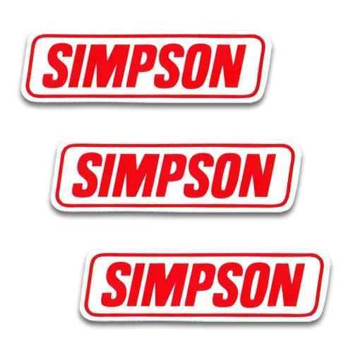 [メール便送料無料] ステッカー 3枚 セット / SIMPSON シンプソン アメリカン雑貨