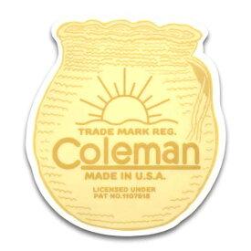 ステッカー / Coleman コールマン B アメリカン雑貨