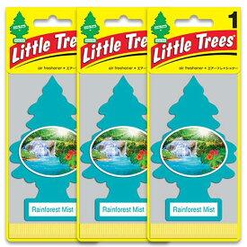 [メール便送料無料] レインフォレスト ミスト 3枚セット / Little Trees リトルツリー アメリカン雑貨