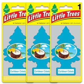 [メール便送料無料] カリビアンコラーダ 3枚セット / Little Trees リトルツリー アメリカン雑貨