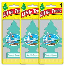 [メール便送料無料] ベイサイドブリーズ 3枚セット / Little Trees リトルツリー アメリカン雑貨