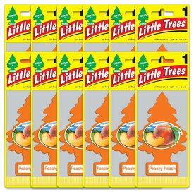 [メール便送料無料] ピーチ ピーチ 12枚セット / Little Trees リトルツリー アメリカン雑貨