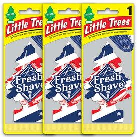 [メール便送料無料] フレッシュ・シェイブ 3枚セット Fresh Shave / Little Trees リトルツリー アメリカン雑貨