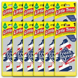 [メール便送料無料] フレッシュ・シェイブ 12枚セット Fresh Shave / Little Trees リトルツリー アメリカン雑貨