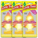 [メール便送料無料] サンセット・ビーチ 3枚セット Sunset Beach / Little Trees リトルツリー アメリカン雑貨