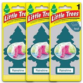 [メール便送料無料] レインシャイン 3枚セット Rainshine / Little Trees リトルツリー アメリカン雑貨