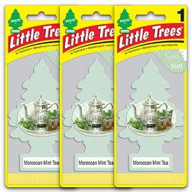 [メール便送料無料] モロッコ ミントティー 3枚セット Moroccan Mint Tea / Little Trees リトルツリー アメリカン雑貨