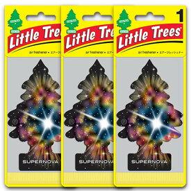 [メール便送料無料] スーパーノヴァ 3枚セット Supernova / Little Trees リトルツリー アメリカン雑貨