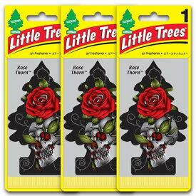 [メール便送料無料] ローズ・ソーン 3枚セット Rose Thorn / Little Trees リトルツリー アメリカン雑貨