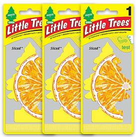 [メール便送料無料] スライス 3枚セット Sliced / Little Trees リトルツリー アメリカン雑貨