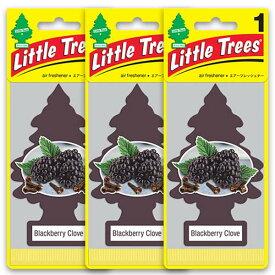 [メール便送料無料] ブラックベリー 3枚セット / Little Trees リトルツリー アメリカン雑貨