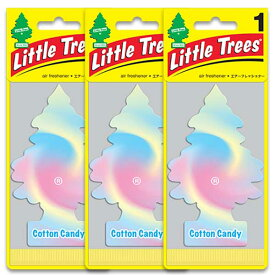 [メール便送料無料] コットンキャンディ 3枚セット / Little Trees リトルツリー アメリカン雑貨