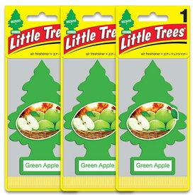 [メール便送料無料] グリーンアップル 3枚セット / Little Trees リトルツリー アメリカン雑貨