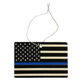 エアフレッシュナー [USA FLAG 星条旗 シンブルーライン] アメリカン雑貨