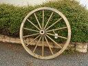 車輪 置物 62cm・木製 カントリーガーデン 大 車輪 (L) アンティークブラウン 濃い茶色 ナチュラル 安い ホイールアメリカン フレンチ …