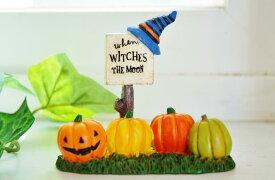 絶版! ハロウィン あす楽】you-zen ゆうぜん ハロウィン ハットサイン M HALLOWEEN 飾り かぼちゃアメリカン フレンチ カントリー インテリア 雑貨 ハロウイン 魔女 オブジェ