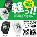 《あす楽 ポイント10倍》朝日ゴルフ EAGLE VISION watch 3 イーグルビジョン ウォッチ3 GPSゴルフナビ 腕時計タイプ 距離測定器