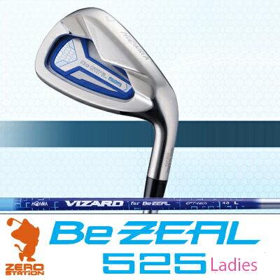 HONMA 本間ゴルフ BeZEAL 525 Ladies IRON 6本組 ビジール 525 レディース アイアン VIZARD カーボンシャフト ゴルフクラブ