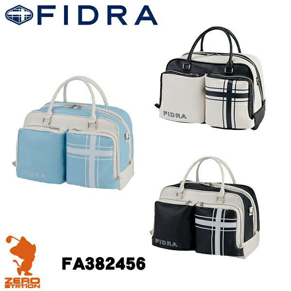 《あす楽》FIDRA フィドラ FA382456 ボストンバッグ ショルダー付き 合成皮革 [17春夏]
