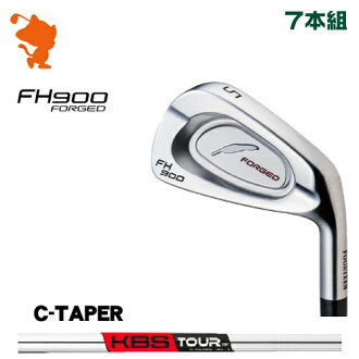 FOURTEEN GOLF FH900 FORGED IRON (7 clubs) KBS TOUR C-Taper steel shaft manufacturer custom-order Japan model