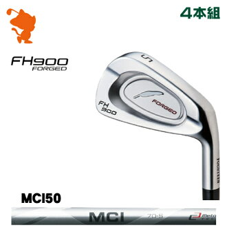 FOURTEEN GOLF FH900 FORGED IRON (4 clubs) Fujikura MCI 50 graphite shaft manufacturer custom-order Japan model