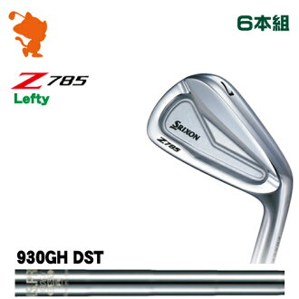 ダンロップスリクソン Z785 Leffe tear Ian DUNLOP SRIXON Z785 Lefty IRON 6 regular company of fire fighters NSPRO 930GH DST steel shaft maker custom Japanese regular article