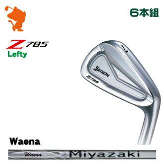 danroppusurikuson Z785雷布TEAR伊安DUNLOP SRIXON Z785 Lefty IRON 6部組Miyazaki Waena碳軸廠商特別定做日本正規的物品
