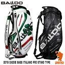 《あす楽》BALDO バルド 2019 CADDIE BAGS ITALIANO PRO STAND TYPE メンズ スタンド キャディバッグ 9.5型 2019年モ…
