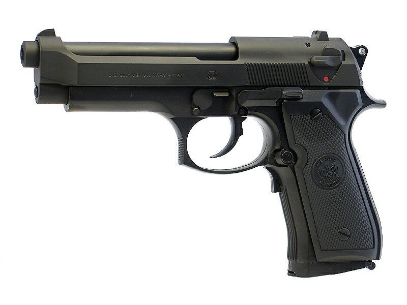 東京マルイ M92Fミリタリー(ベレッタ) ブラックモデル 電動ブローバック(電動ガン/電動エアーガン/エアガン) 対象年令10才以上(10歳以上)