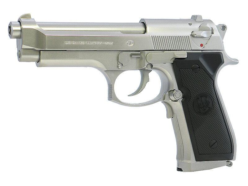 東京マルイ M92Fミリタリー(ベレッタ) シルバーモデル 電動ブローバック(電動ガン/電動エアーガン/エアガン) 対象年令10才以上(10歳以上)